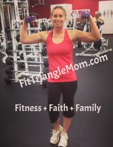 fit triangle mom button