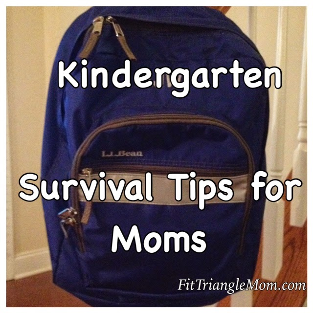 kindergarten survival tips for moms, fittrianglemom.com
