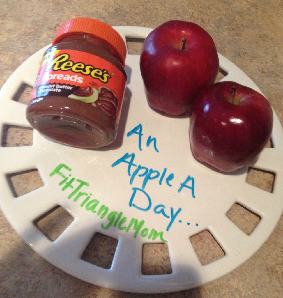 apples and Reese's Spreads