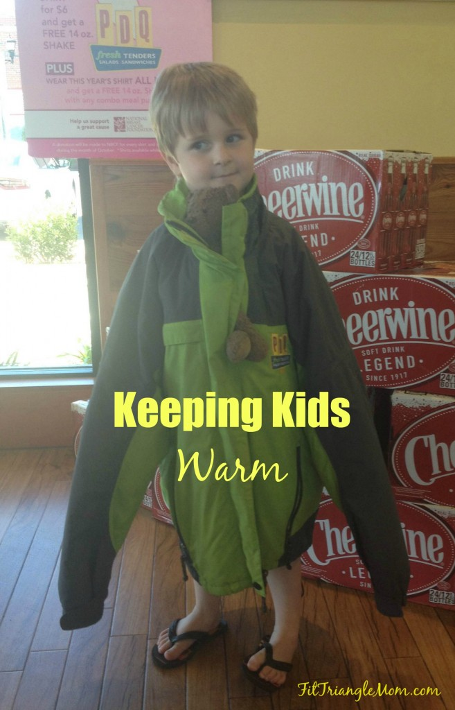 Keeping Kids Warm through jackets, coats and sweatshirt donations at your local NC/SC PDQ store. All donations will support The Salvation Army
