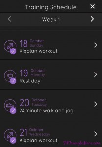 Kiqplan 's #10kRunReady app offers a personal training workout approach in the convenience of an app/