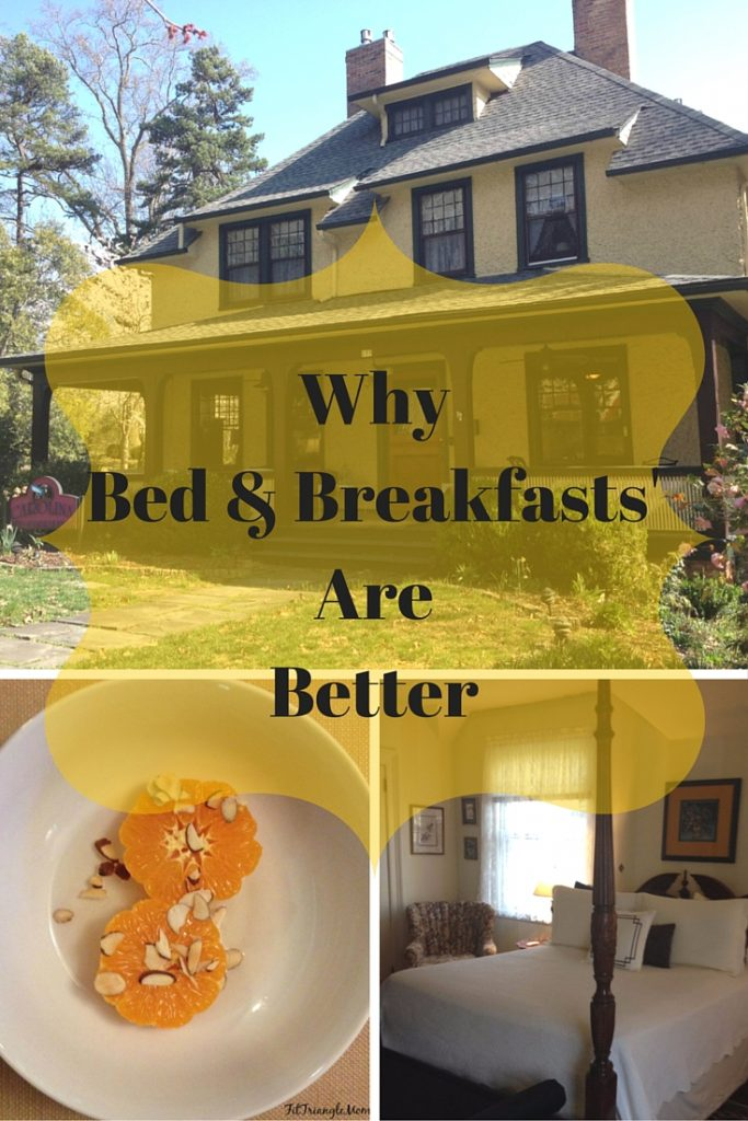 Staying at a Bed & Breakfast is better for so many reasons. Read more.