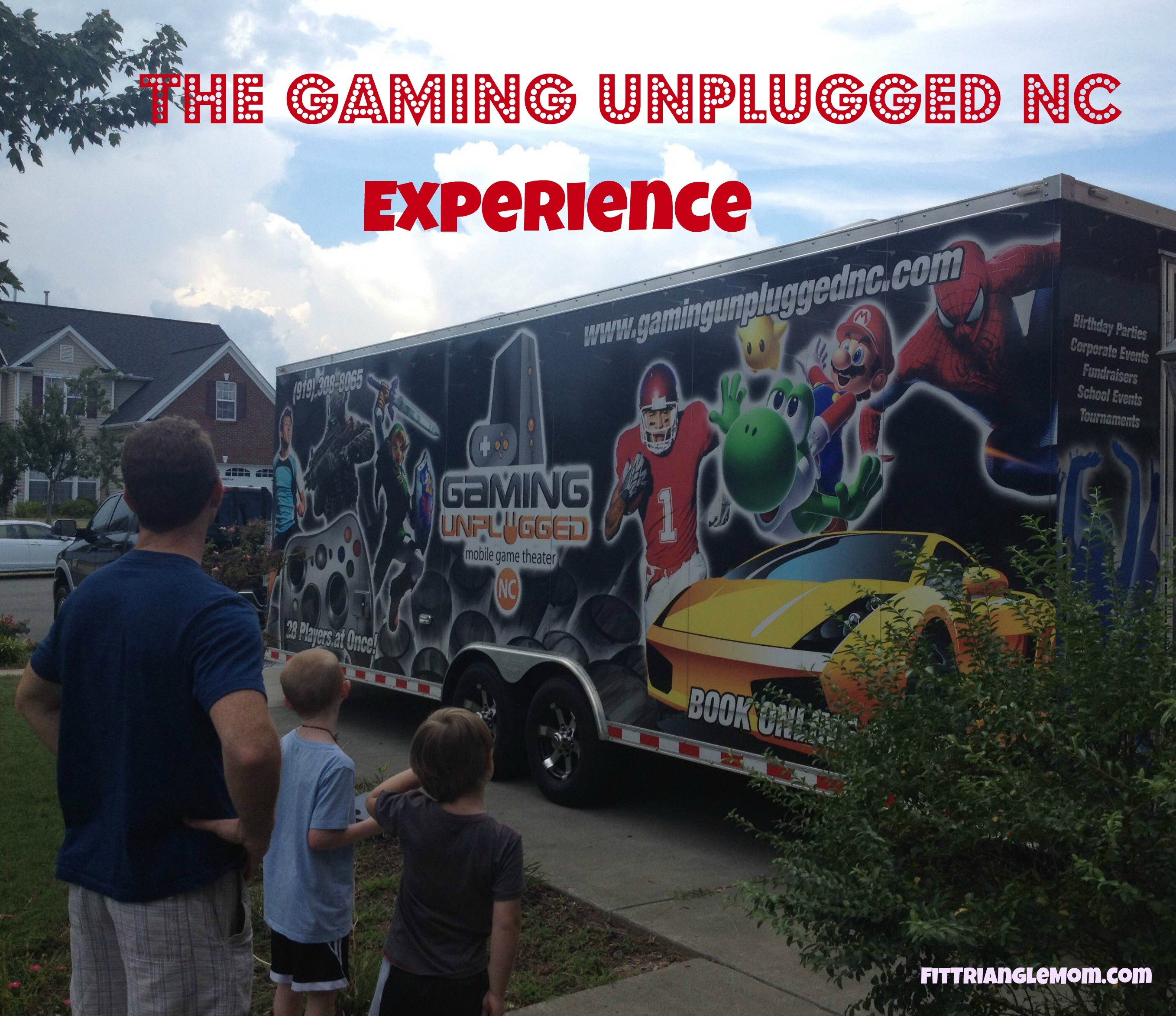 2016. Gaming Unplugged NC is the ultimate video game truck for birthdays or any fun event