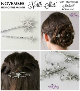 Lila Rose hair clips and pins make the prefect Christmas gift for ladies. Holiday.