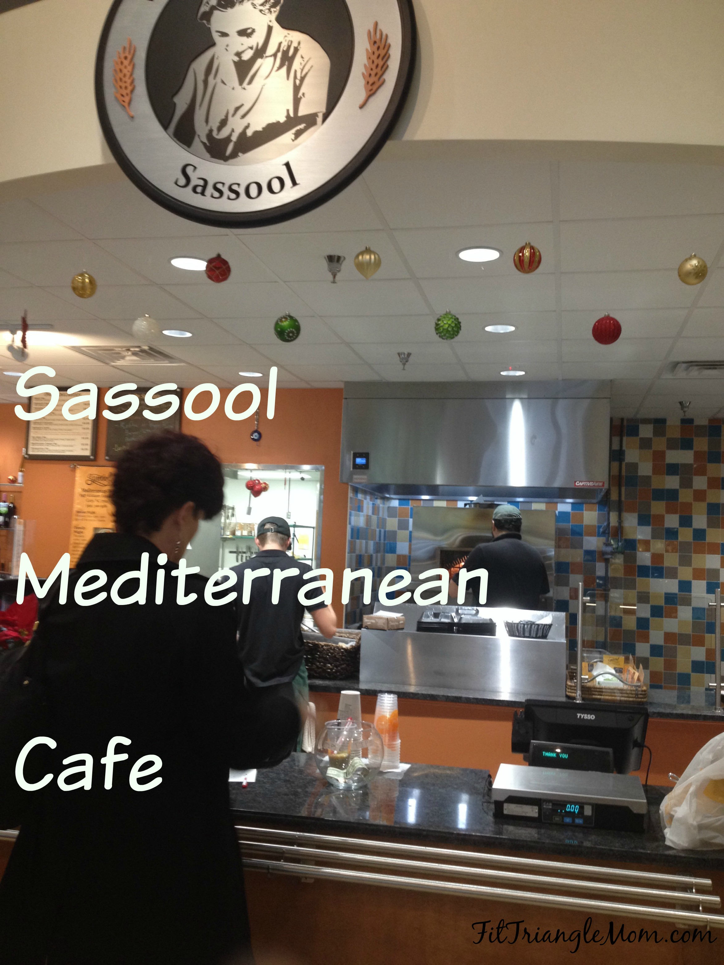 sassool mediterranean cafe - fit triangle mom