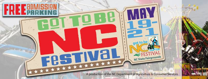 Got to Be NC Festival at the NC State Fair grounds is the place to go to find NC homegrown wine and food.