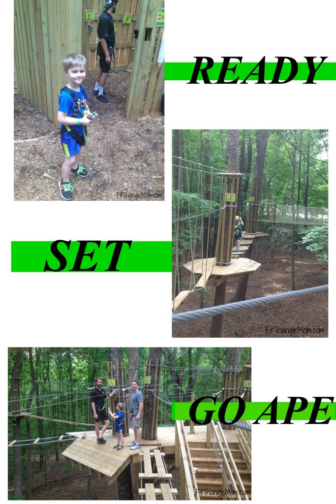 Ready, Set, Go Ape. Give your kids a confidence boost and take them on a Go Ape treetop adventure. rope course fun for the family.