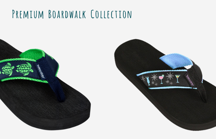 flip flopping into summer with Tidewater Sandals
