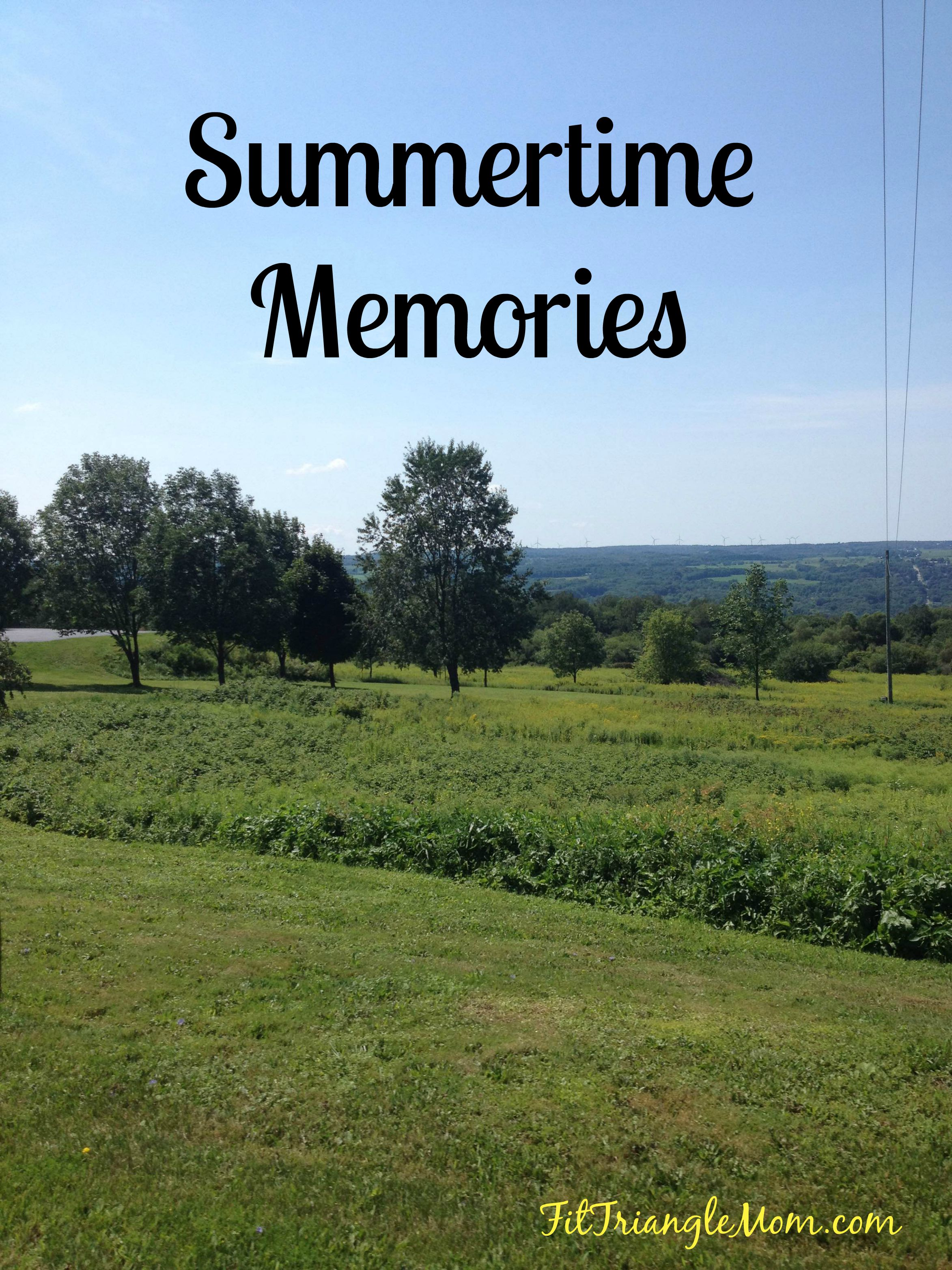 Summertime Childhood memories. Part 1 of our trip to #WesternNY