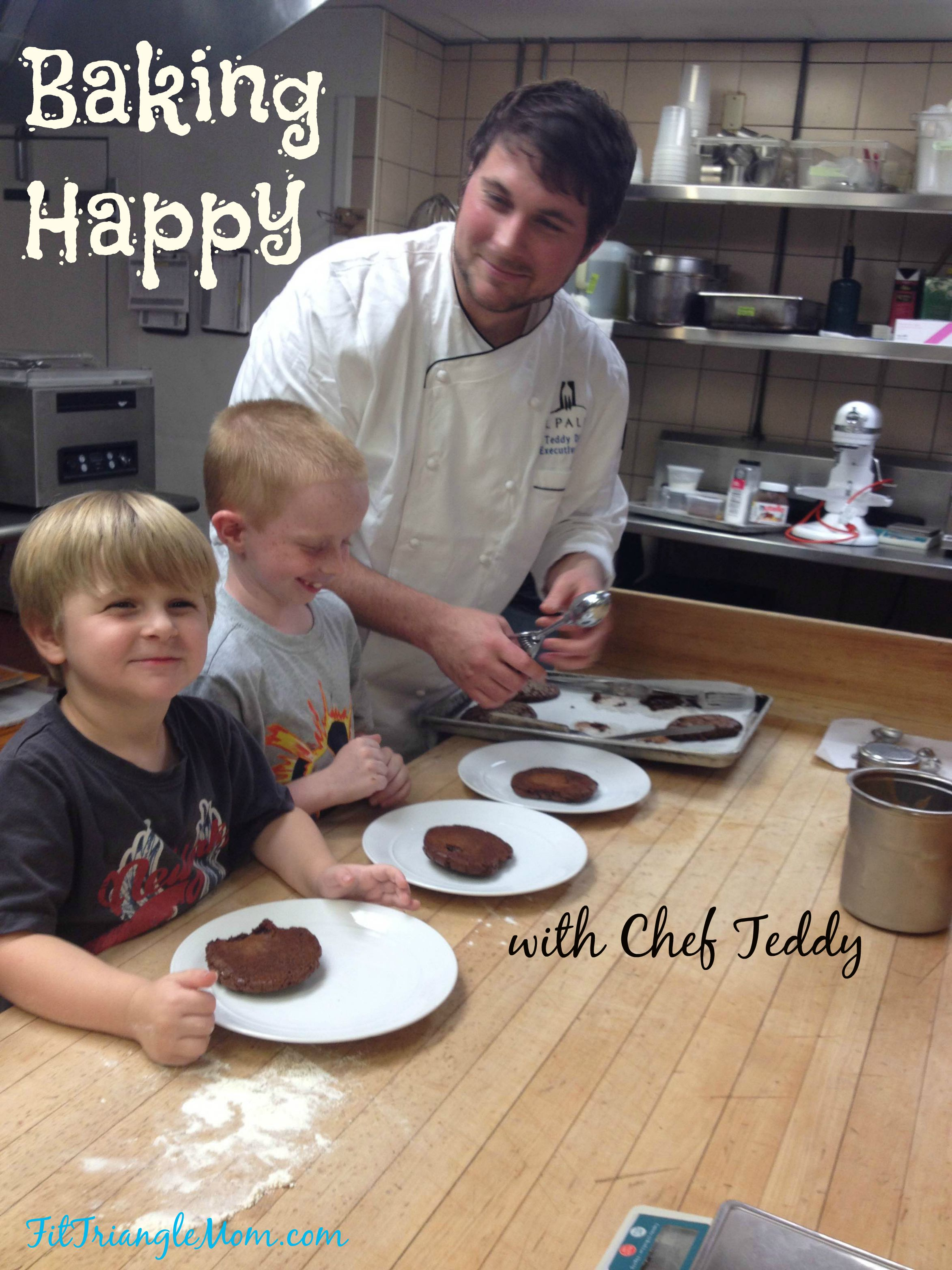 #Kidscooking #Chef #Teddy Diggs Baking Happy FitTriangleMom.com
