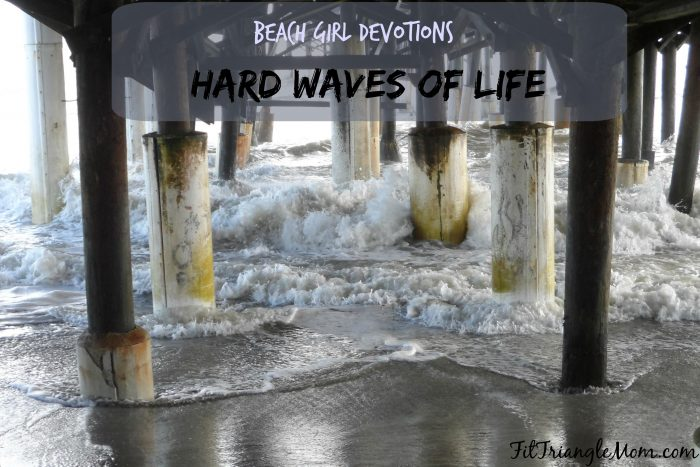 When the hard waves of life knock you down be encouraged by your Faith in God. Beach Girl Devotions