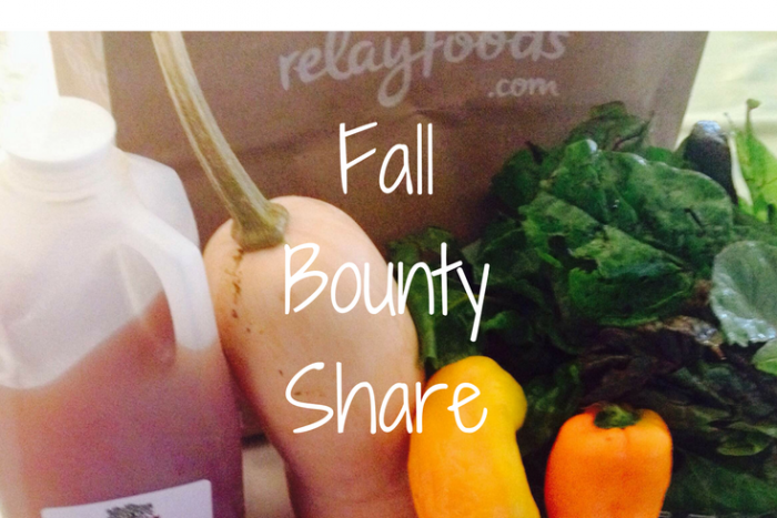 Fall Local Bounty Share from Relay Foods is organic produce delivered to you.
