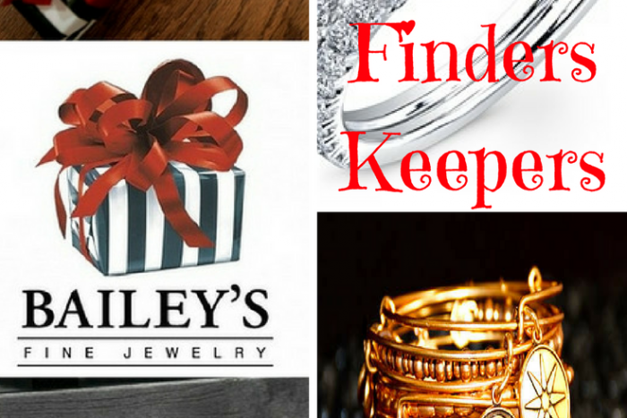 get the clues and find a Bailey's Finder Keeper Box in Raleigh, Greenville or Rocky Mount. Win a gift card too. Fine jewelry and designer watches.