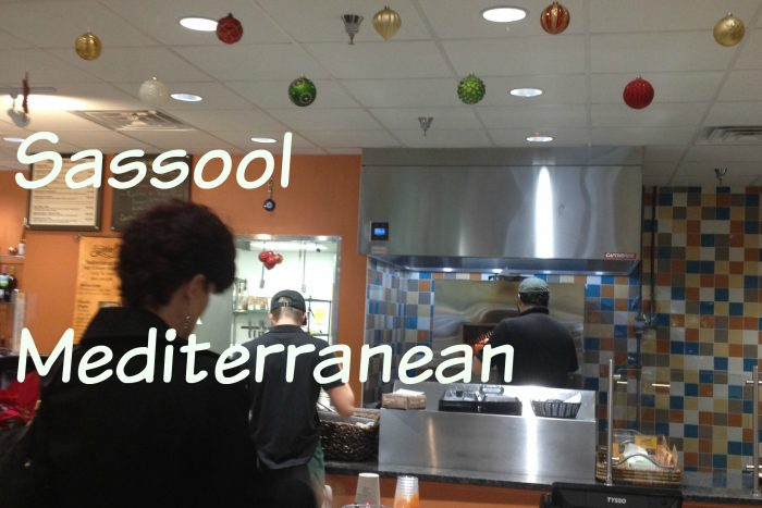 Sassool Mediterranean Cafe serves fresh, flavorsome food with an emphasis on family.