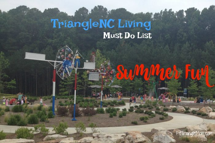 Triangle NC Living Summer Fun Must Do List for kid activities